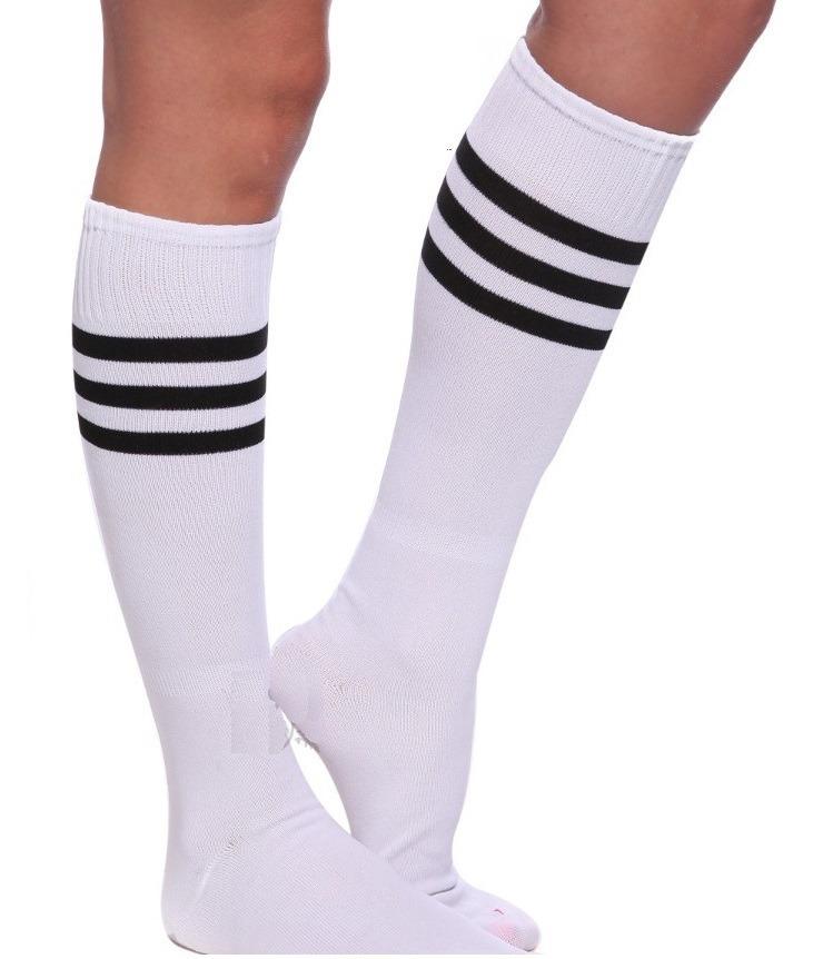 Kit 10 Meias Colegial 3 4 Listrada Branco Swag Knee Skate - R  219 ... c2775480d4c