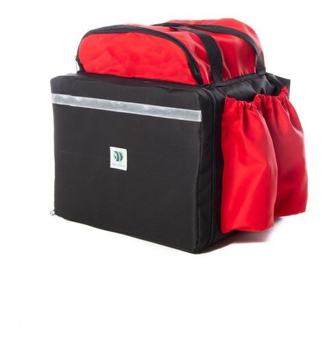 kit 10 mochila delivery 44 sem isopor lisa sortidas