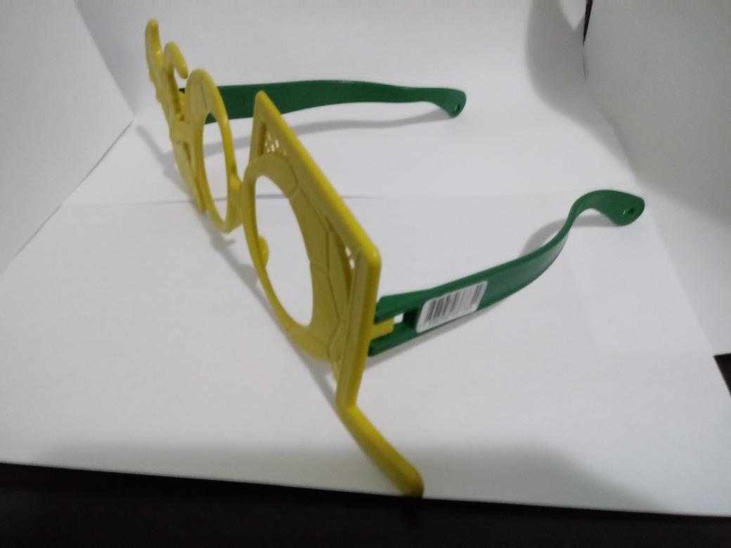 3a8c9e77c53cd kit 10 óculos brasil gol copa mundo adereço festa fantasia. Carregando zoom.