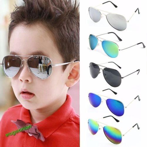 fd1f77c2da729 Kit 10 Óculos De Sol Aviador Infantil Menina Menino Crianças - R ...