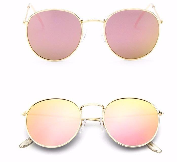 Kit 10 Óculos De Sol Feminino Redondo Retro Atacado Uv400 - R  180 ... 3b0fdd22d2