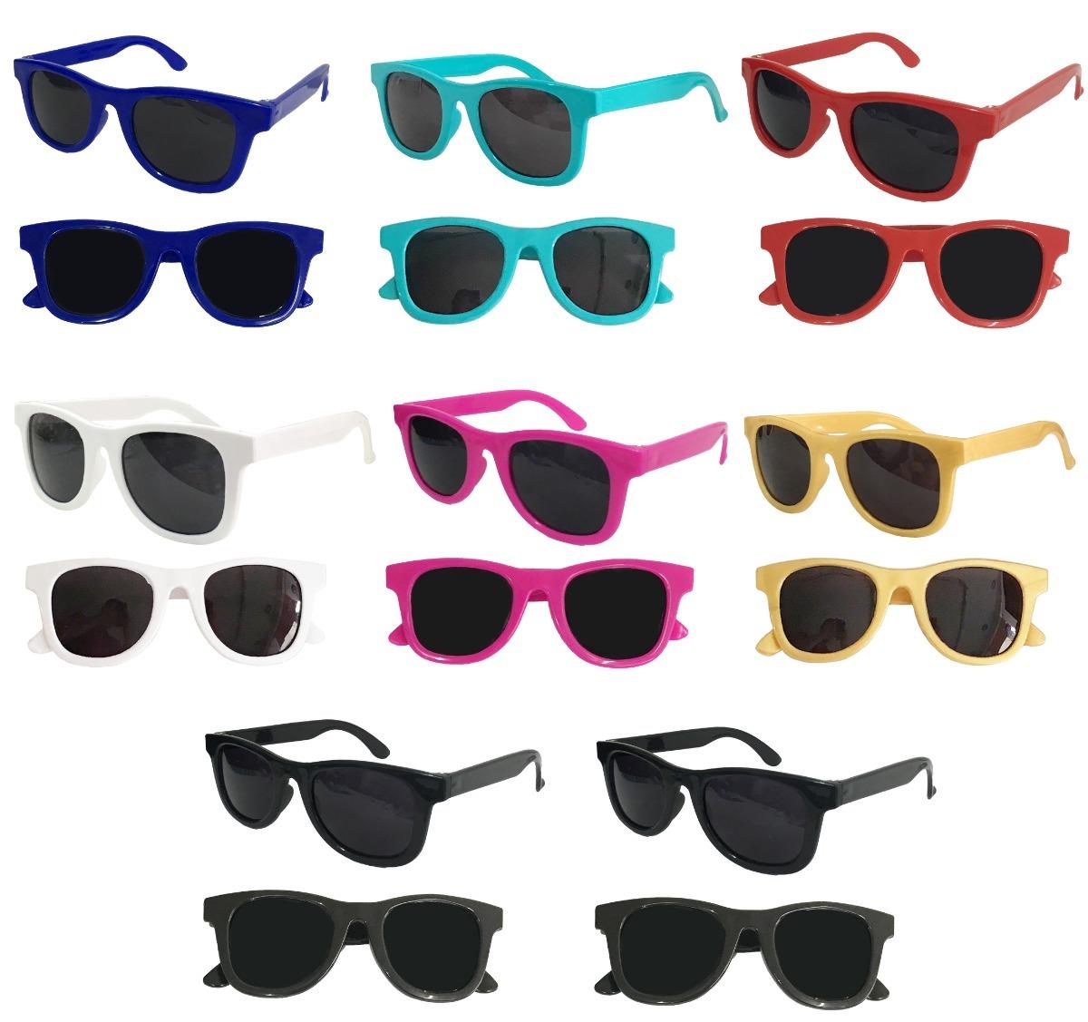 d1162c9df Kit 10 Óculos Sol Infantil Criança Uv400 Promoção Atacado - R$ 100 ...