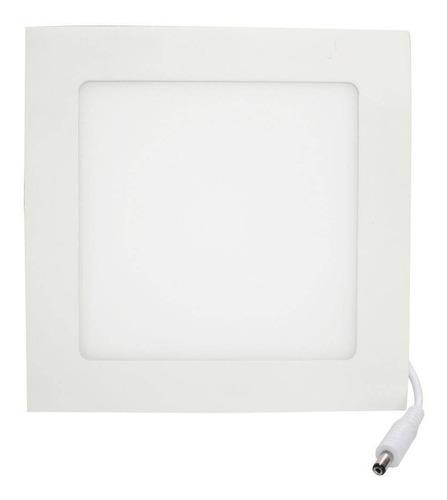 kit 10 painel led embutir quadrado 25w frio 6000k
