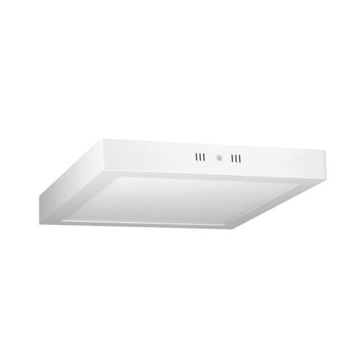 kit 10 painel plafon sobrepor teto led quadrado 25w