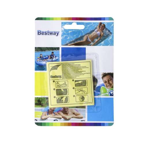 kit 10 parches reparacion aro inflable piletas intex bestway