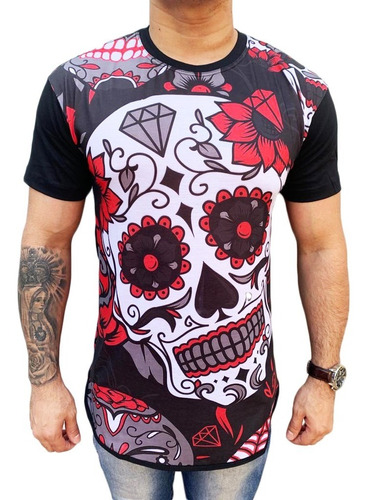 kit 10 pç camisa long line masculinas  oversize swag atacado