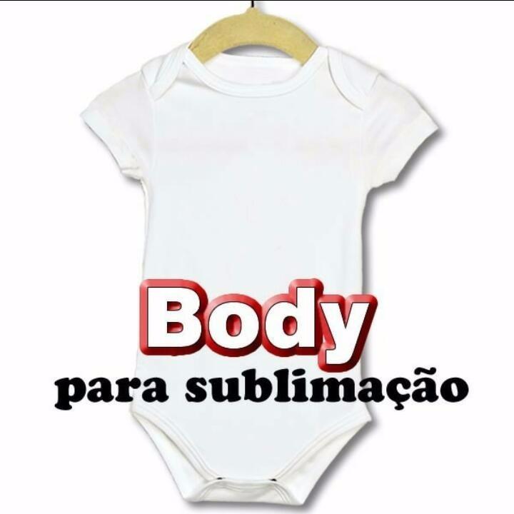 Kit 10 Peças Body Infantil 100% Poliéster Atacado Sublimação - R  59 ... e7b50d241350