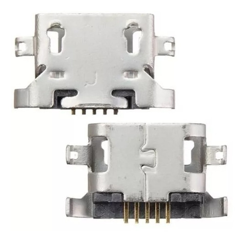kit 10 peças conector carga usb lenovo k4 k5 k6 - moto g5 e3