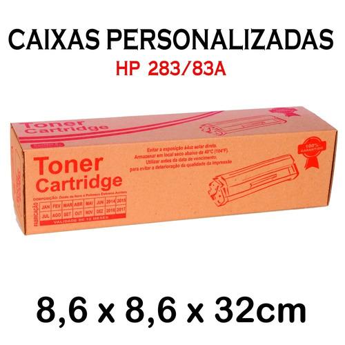kit 10 peças toner compatível hp cf283a cf283 283a 283 83a