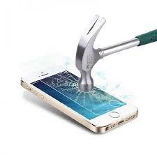 kit 10 peliculas vidro temperado iphone 5 5c 5s premium