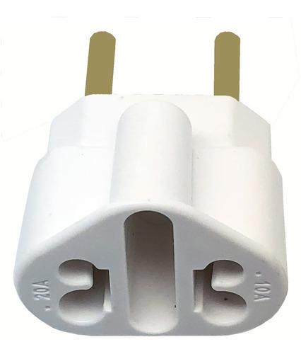 kit 10 pino adaptador universal tomada bob love 10/20 amper