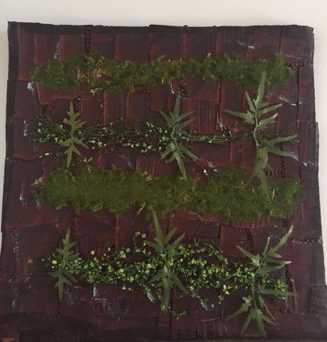 Kit 10 placas c musgo verde artificial jardim vertical for Placa jardin vertical artificial