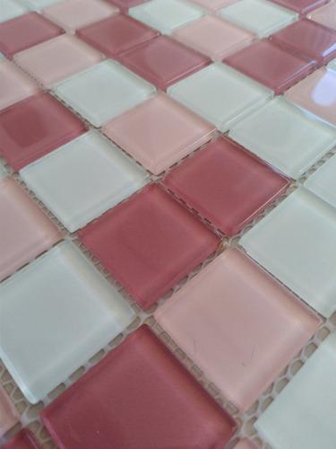 kit 10 placas - pastilha de vidro.mosaicos  - r$ 12,95 un