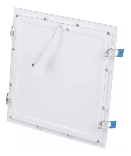 kit 10 plafon embutir quadrado led 25w painel bivolt 30x30