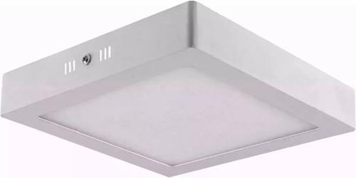 kit 10 plafon sobrepor quadrado led 25w painel bivolt 30x30
