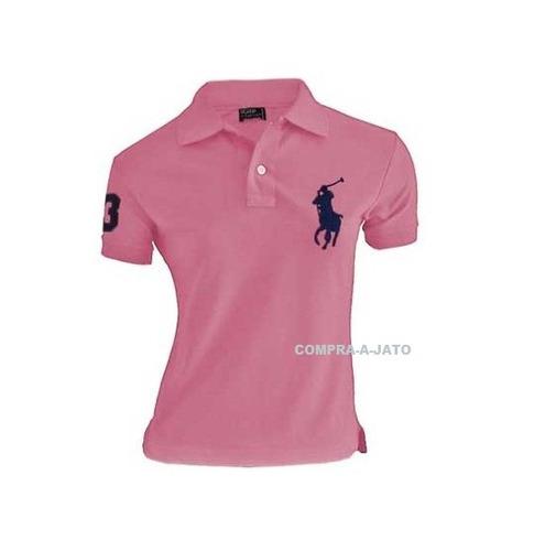 kit 10 polo feminina camiseta blusa babylook revenda/atacado