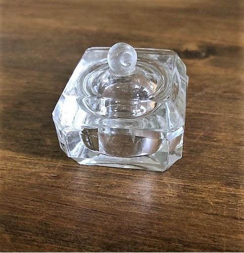 kit 10 porta-joia de vidro - segunda linha