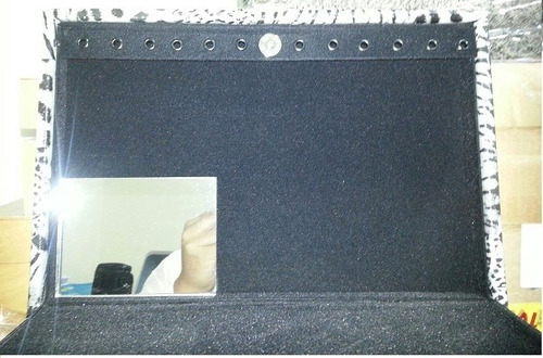kit 10 porta joias grande duplo +3 porta relogio p/10