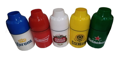 kit 10 portas long neck / lata 350ml cervejas marcas