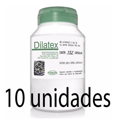 kit 10 potes dilatex 152 cap - promoção atacado frete gratis