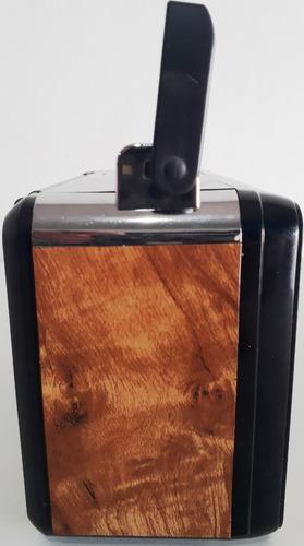 kit 10 rádinho de mesa retrô vintage prático potente bivolt
