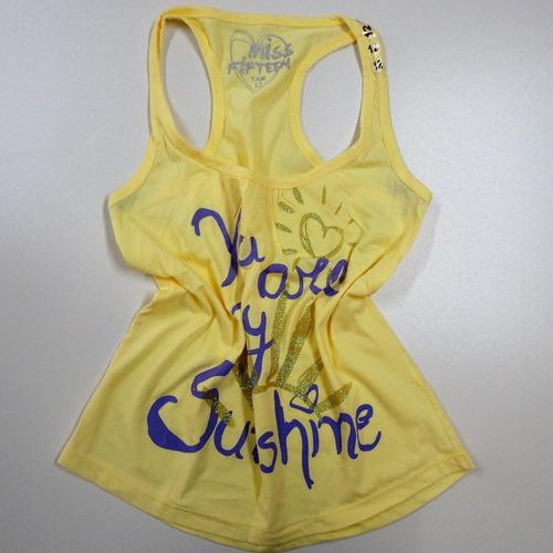0ae1618e7 Kit 10 Regatas Femininas Blusas Top Verão Atacado - R  149