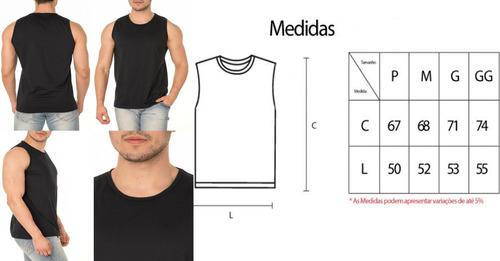 aa76bb5dd Kit 10 Regatas Machão Tradicional Camiseta Treino Musculação - R ...