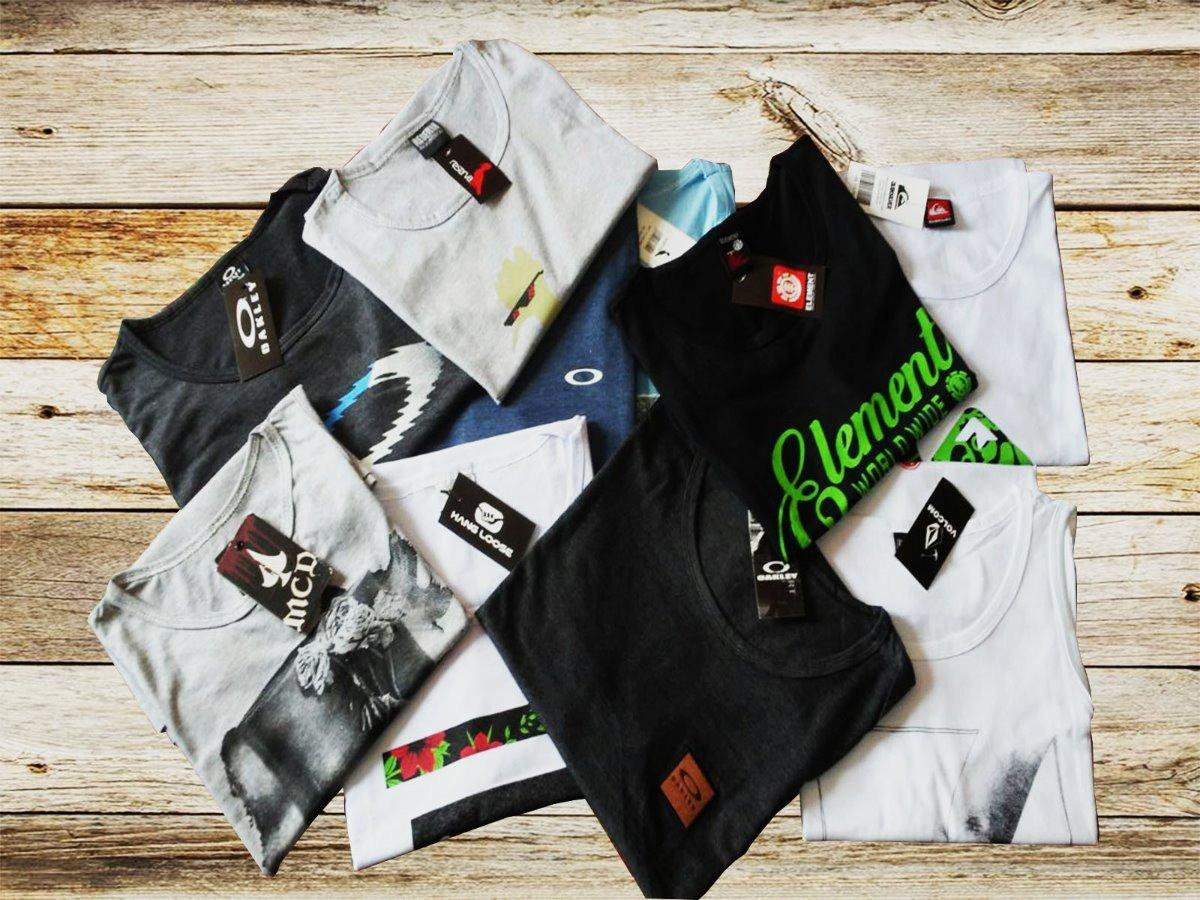 Kit 10 Regatas Masculinas Camiseta Regata Surf Atacado - R  200 3ec89ccbf69