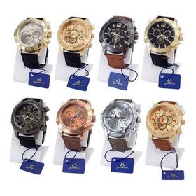 Kit 10 Relógio Masculino Original Atacado Revenda Grande Top