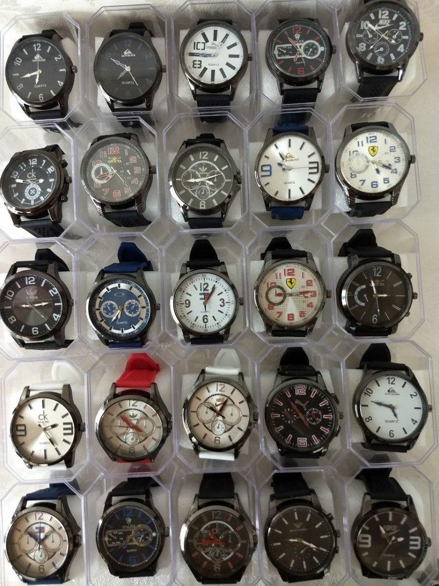 6f1065634f7 kit 10 relógio masculinos multi marcas promoção p  entre. Carregando zoom.