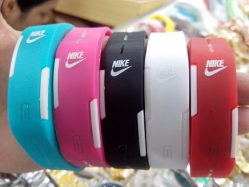 1ae9af7ae7d Kit 10 Relógio Pulseira Nike Digital Led Academia