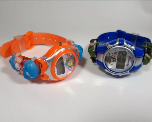 kit 10 relógios feminino/masculino infantil kids no atacado