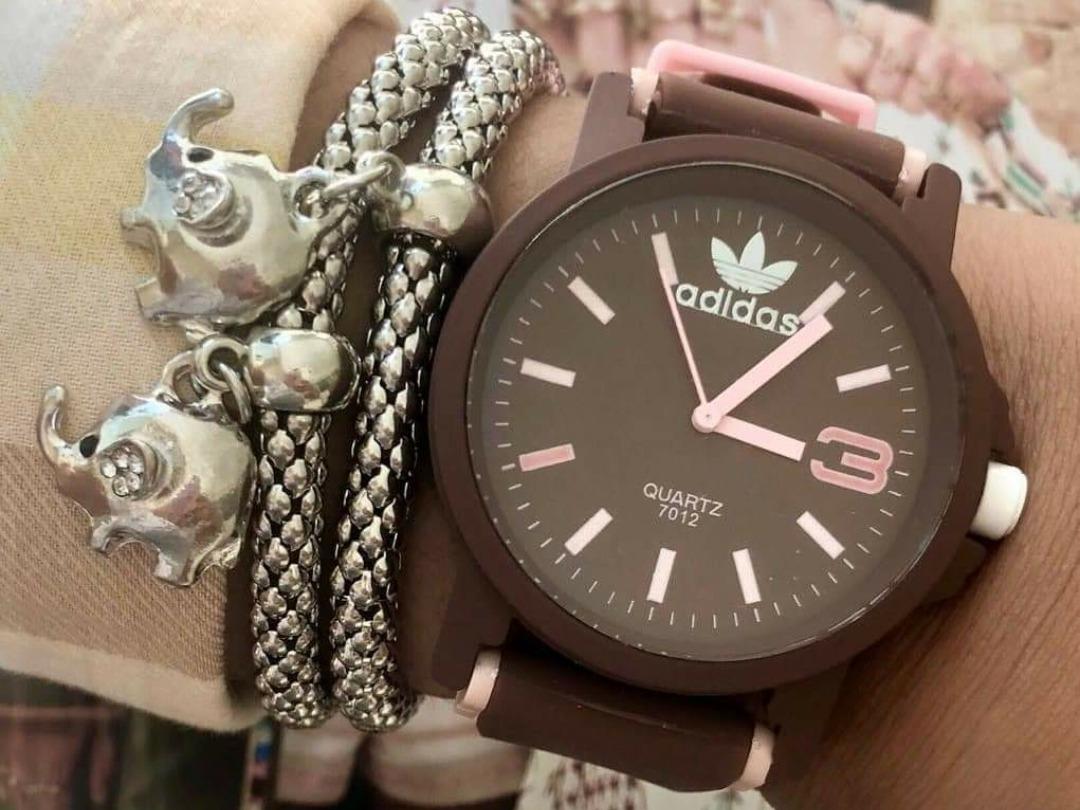 f215da6daa0 kit 10 relógios femininos silicone barato atacado adidas. Carregando zoom.