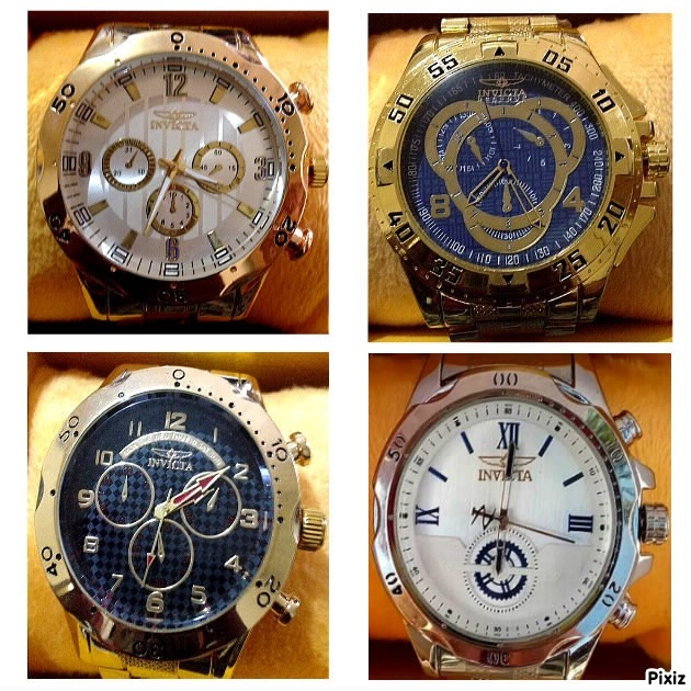 6c7253e4bdb Kit 10 Relógios Invicta 25 De Março Sp Atacado Frete Grátis - R  198