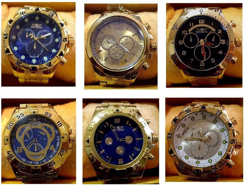 3c0e82ca121 kit 10 relógios invicta importados atacado adquira já. Carregando zoom.