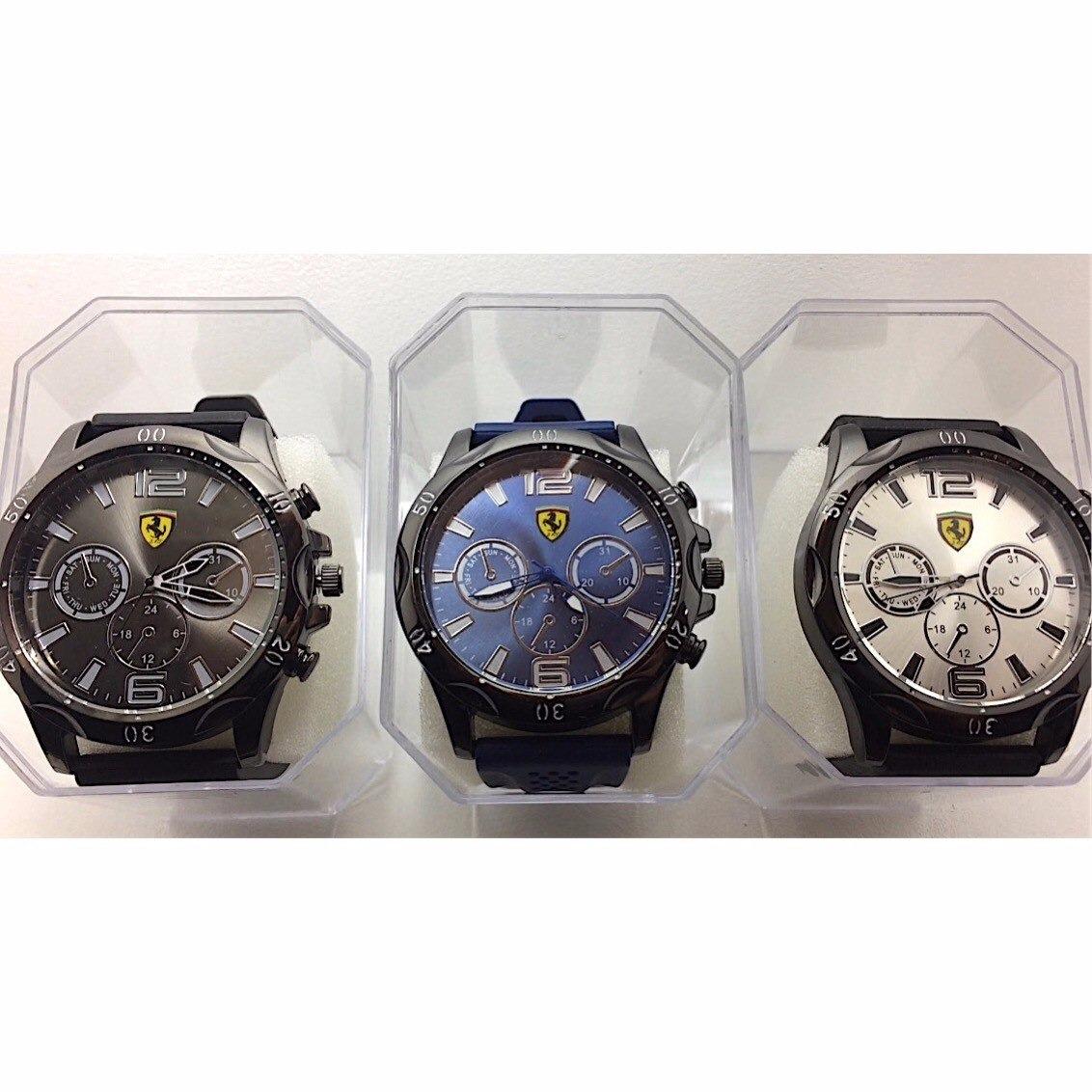 d2465749ac3 kit 10 relógios masculinos atacado revenda silicone + caixa. Carregando zoom .