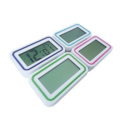 kit 10 relógios para deficiente visual fala hora alarme