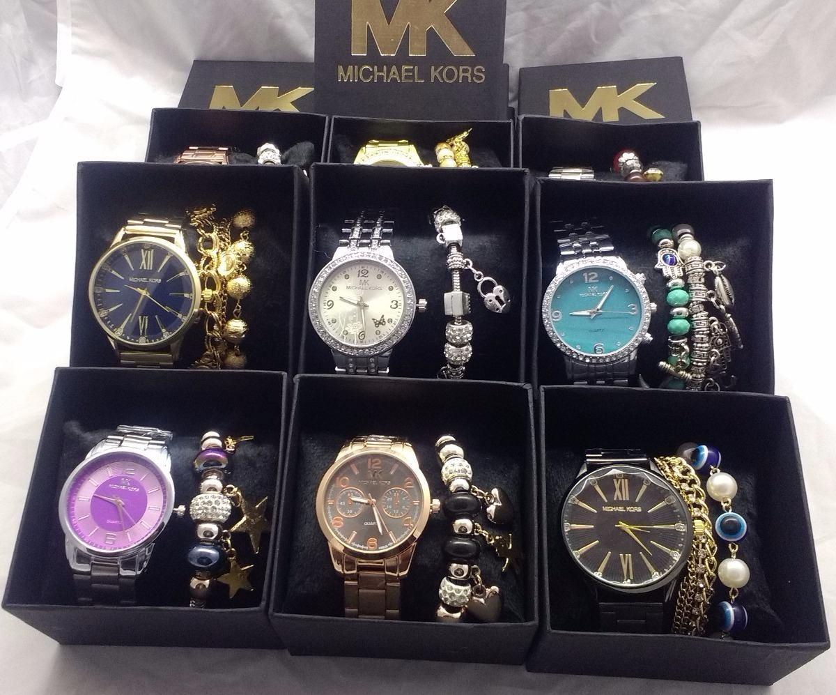 0580e891d04 Kit 10 Relógios Pulseiras E Caixa Atacado Revenda Lindo 2018 - R ...