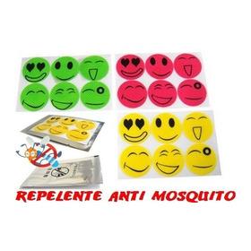 Kit 10 Repelente Adesivo Natural Ant Mosquito Sorri Carinha