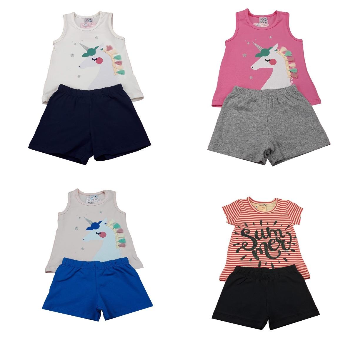 e32401a0d1 kit 10 roupas infantil feminina moda bebe atacado aproveite. Carregando  zoom.