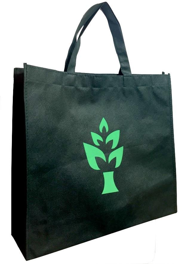 87ac0ea3f kit 10 sacolas bolsa ecológicas - tnt - reutilizável - verde. Carregando  zoom.