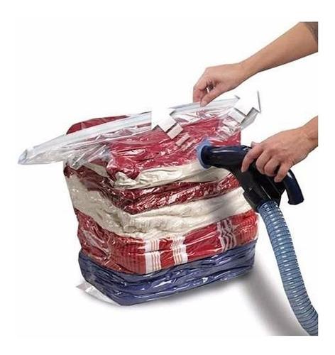 kit 10 sacos para embalagem a vácuo com cabide 120x70 cm