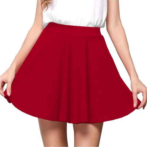 kit 10 saia godê rodada cintura alta mini saia blogueira