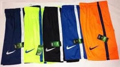 kit 10 short calção bermuda poliester academia futebol