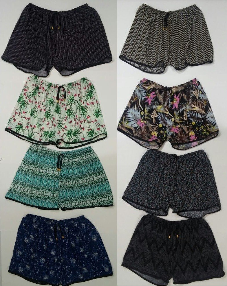 c10d224f5 kit 10 short feminino plus size estampado preço de fabrica. Carregando zoom.