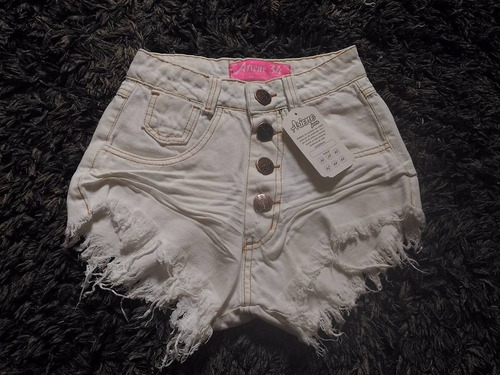 kit 10 short jeans femininos cintura alta hot pants atacado
