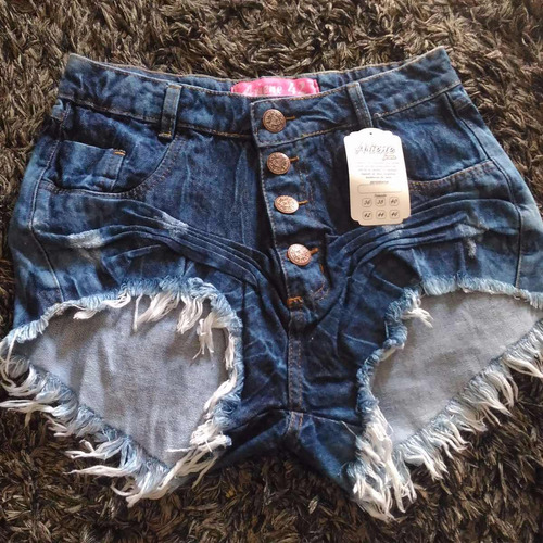 kit 10 shorts jeans feminino sortido atacado revenda +brinde