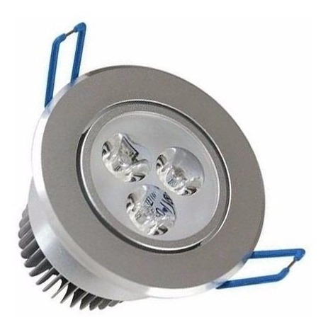 kit 10 spot super led 3w lampada direcionável pronta entrega