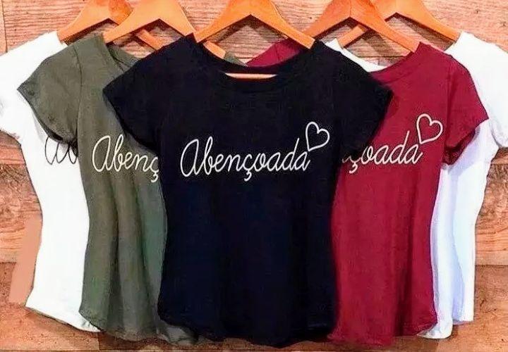 Kit 10 T-shirts Blusas Feminina Para Revenda Roupas Atacado 2f90e79a17b94