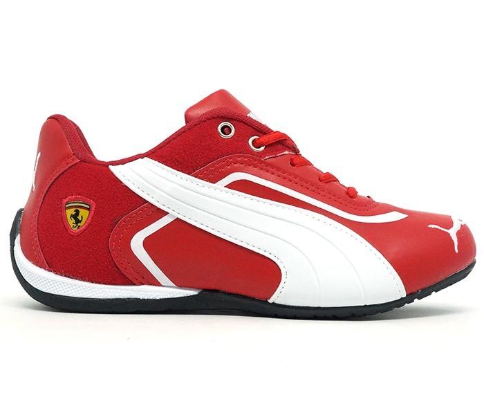 1c5b9ce5292 Kit 10 Tênis Puma Ferrari New Vermelho E Branco Para Revenda - R ...